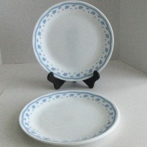 Corelle Morning Glory dinner plates set of 3